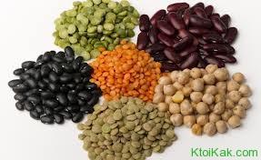 белок в бобовых