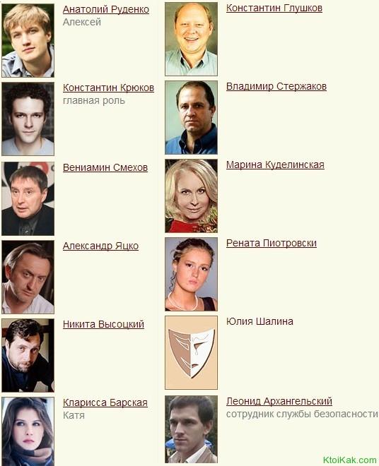 спираль актеры